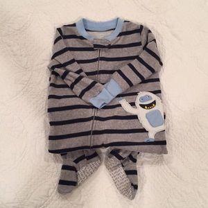 Carter's Pajamas - 4 Pack Carters 18M Footed Zipper PJs
